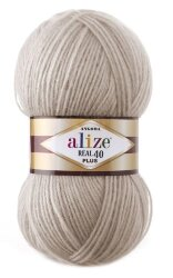 Пряжа Alize Angora Real 40 Plus цвет 541 норка